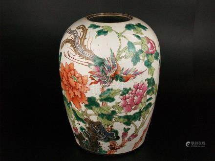 Shoulder vase - China, early 20th century, bulged baluster s