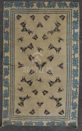 Chinese Butterfly Rug