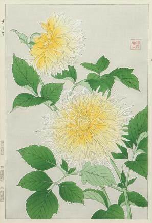 Hodo Nishimura Japanese Wood Block Print