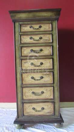 Vintage Wood Jewelry Shelf