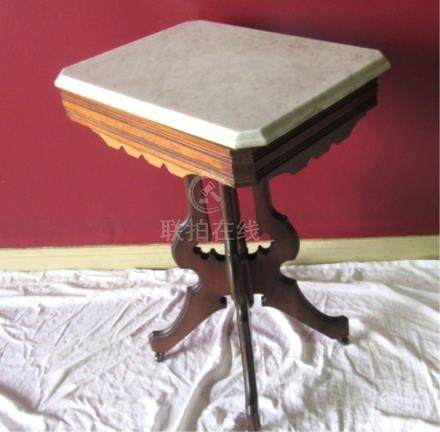 A Victorian Marble Top Table