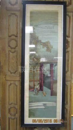 Framed Painting on Silk