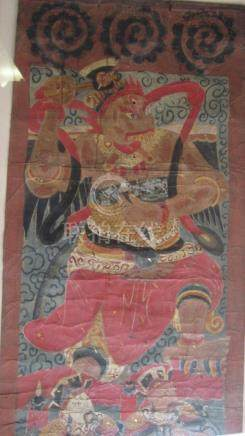 Ming Dynasty Painting of God