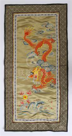 CHINESE EMBROIDERY TEXTILE