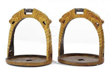 A fine pair of stirrups