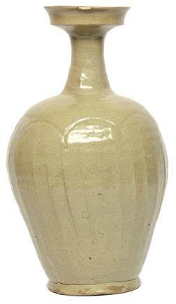 11-12世紀 高麗 青瓷盤口瓶 (東京鈴木家舊藏)