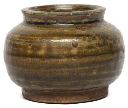 明 南方窰系 青釉罐