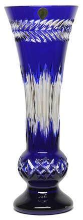 愛爾蘭 WATERFORD 水晶刻花瓶 (全新、附原裝盒)