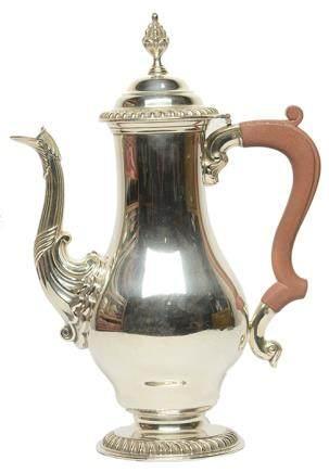 英國 鍍銀壺