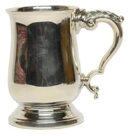 1977年 英國 銀耳杯
