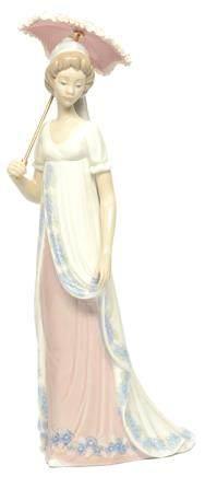 西班牙 LLADRO 彩釉'VENICE LADY' (1985-1992年發行)