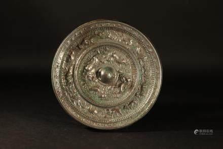 隋代十二生肖銅鏡