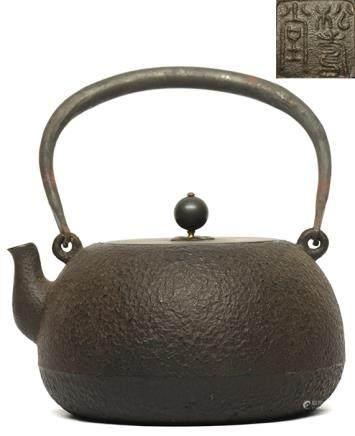 鐵提壺 - '松壽堂' 款