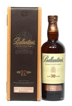 BALLANTINES 百齡壇30年威士忌 700ML (全新、附原裝盒)