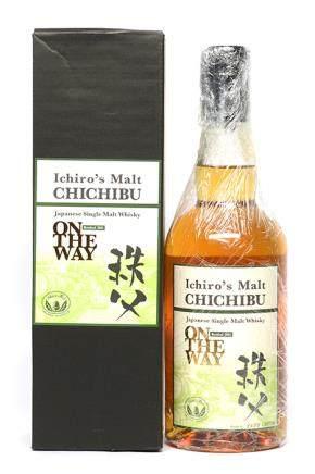 日本 CHICHIBU ON THE WAY 秩父威士忌 700ML(3698/10700 全新、附原裝盒)