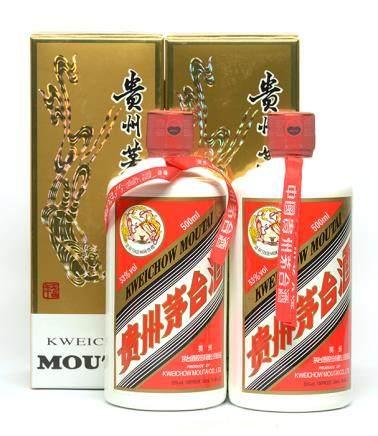 2011年 貴州(飛天)茅台二瓶 500ML (全新、附原裝盒)