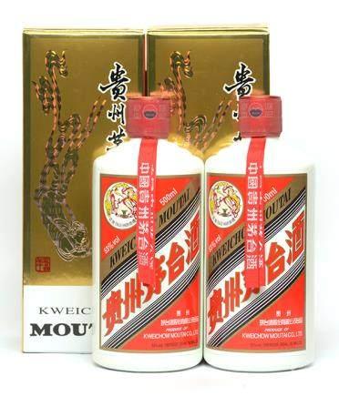 2009年 貴州(飛天)茅台二瓶 500ML (全新、附原裝盒)