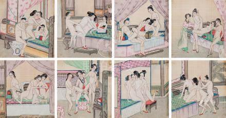 春宫图集册 (八开)