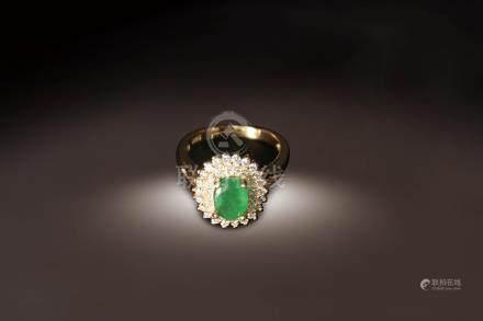 祖母綠指環