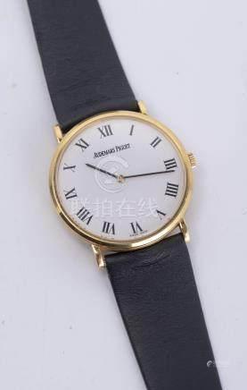 Audemars Piguet, montre-bracelet en or .750, mvt mécanique