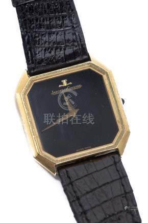 Jaeger-LeCoultre, montre-bracelet homme en or jaune .750