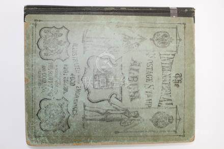 International Postage Stamp Album. 1901 Edition
