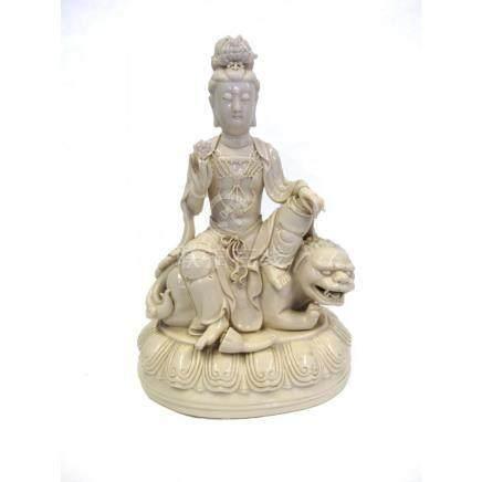 Dehua Figure of Guanyin, 20th Century.