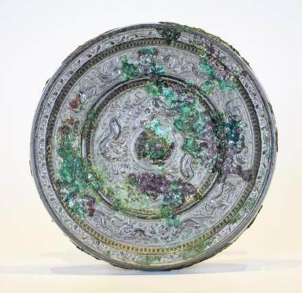 A Tang Period Bronze Mirror