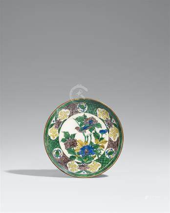 A Kutani plate. 19th century