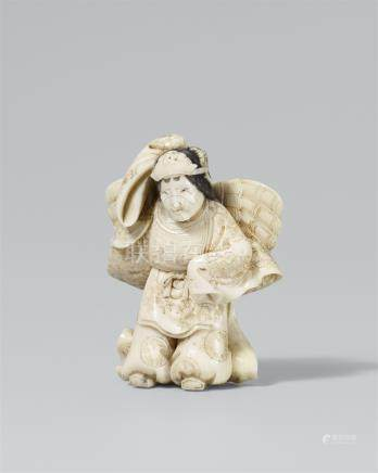 Butterfly dancer. Ivory. Second half 19th century