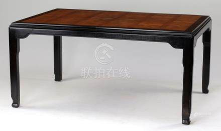 Century Furniture 'Chin Hua' dining table w/ 2 leaves