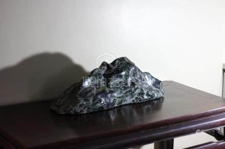 Chinese hardstone scholar mountain