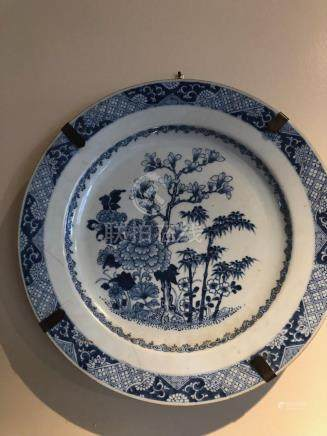 Blue white Chinese export charger
