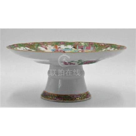 Rose Medallion ca 1860 Authentic cake dish