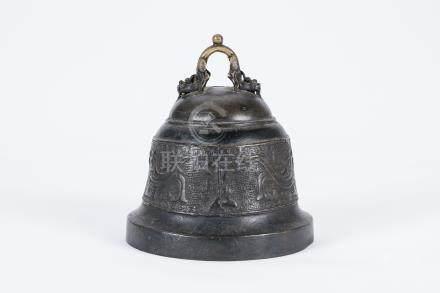 Chinese bronze bell.