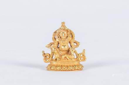 Chinese gold Buddha Statue