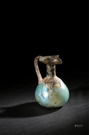 A Glass Water Bottle Of Tang Dynasty(618-907)