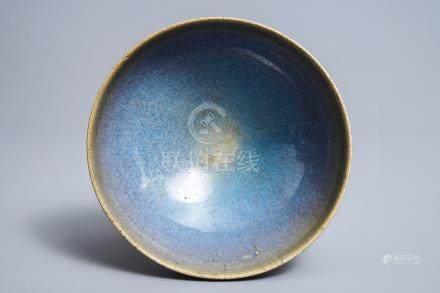 A Chinese 'jun' bowl, Yuan or Ming