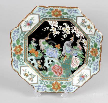 A 19th century Chinese plate,