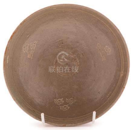 A Korean Celadon shallow bowl
