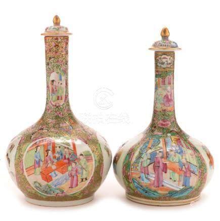 Chinese porcelain mid 19th Century bottle vase