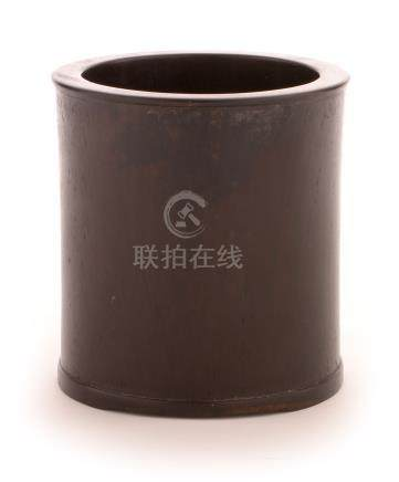 Zitan Bitong brush pot