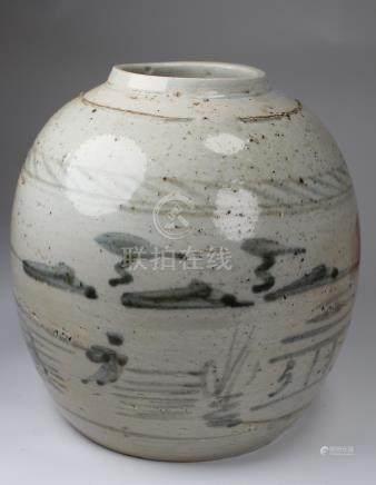 Antique Chinese Glazed Jar