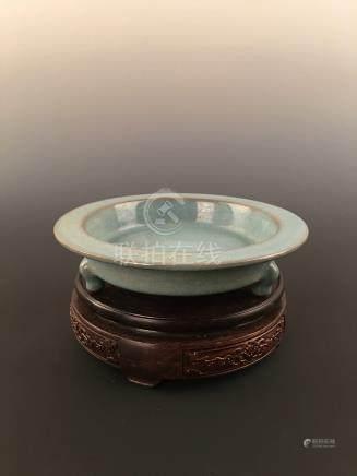 Chinese Ru--Type Porcelain Brush Washer