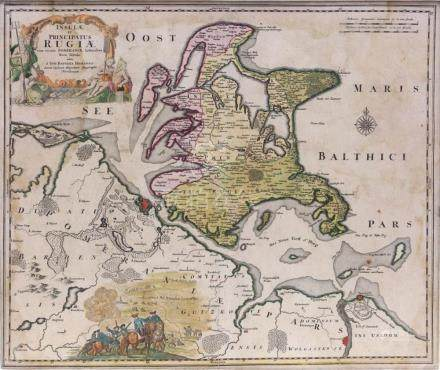 Insulae et Principatus Rugiae cum vicinis Pomeraniae Littori