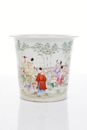 Chinese Famille Rose Porcelain Jardinière