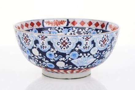 Large Japanese Porcelain Bowl