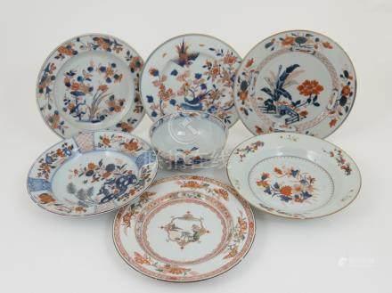Chinese Imari bowl, Qianlong (1735-96), 14.