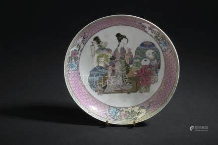 Coupe en porcelaine famille rose à dos rubisChine, époque Yongzheng (1723-1735)