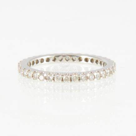 A diamond full eternity ring,